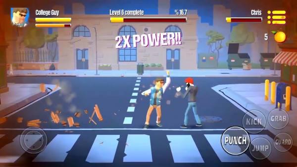 دانلود City Fighter vs Street Gang 2.1.5 بازی اکشن مبارزه با خلافکاران خیابانی شهر اندروید + مود