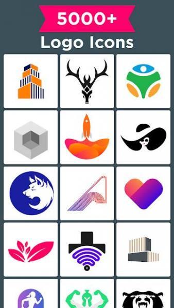 دانلود Logo Maker – Pro Logo Creator Premium 35.9 برنامه حرفه ای ساخت لوگو مخصوص اندروید