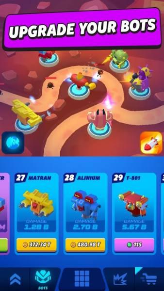 دانلود Merge Tower Bots 4.2.0 بازی ترکیب رباتهای برج اندروید + مود