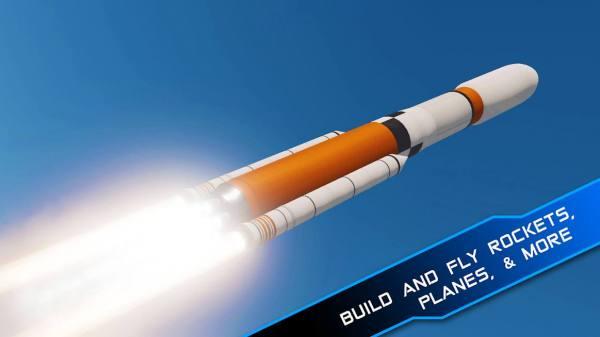 دانلود SimpleRockets 2 0.9.403 بازی شبیه سازی ساخت موشک 2  اندروید
