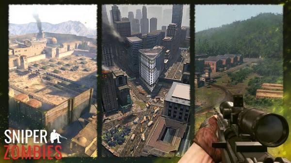 دانلود Sniper Zombies: Offline Game 1.33.1 بازی اکشن تک تیرانداز زامبی ها اندروید + مود