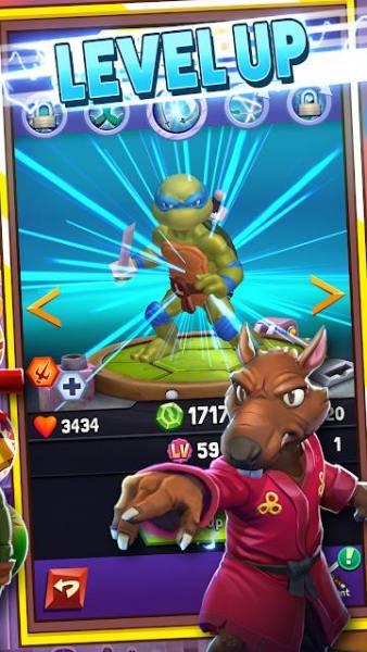 دانلود TMNT: Mutant Madness 1.41.1 بازی نقش آفرینی لاک پشت های نینجا: جنون جهش یافته اندروید + مود