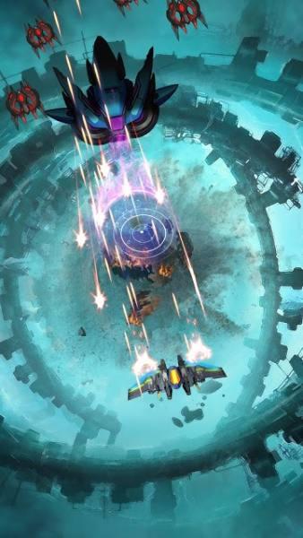 دانلود Transmute: Galaxy Battle 1.2.0 بازی آرکید تغییر شکل: نبرد کهکشان اندروید + مود
