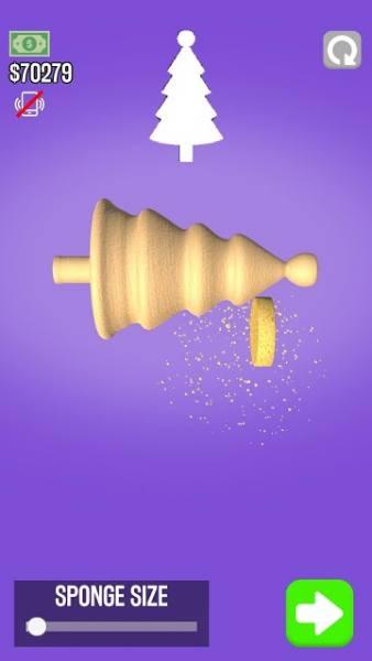 دانلود Woodturning 1.8.7 بازی تفننی و آرامش بخش برش چوب اندروید + مود