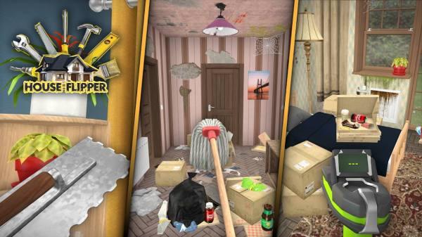 دانلود House Flipper: Home Design, Renovation Games 1.02 بازی شبیه سازی بازسازی خانه اندروید + مود