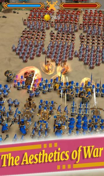 دانلود Idle Legion 1.0.46 بازی استراتژیک جالب جنگ لژیون ها اندروید + مود