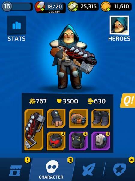 دانلود Impossible Space – A Hero In Space 1.7.2 بازی اکشن مأموریت فضایی غیرممکن اندروید + مود