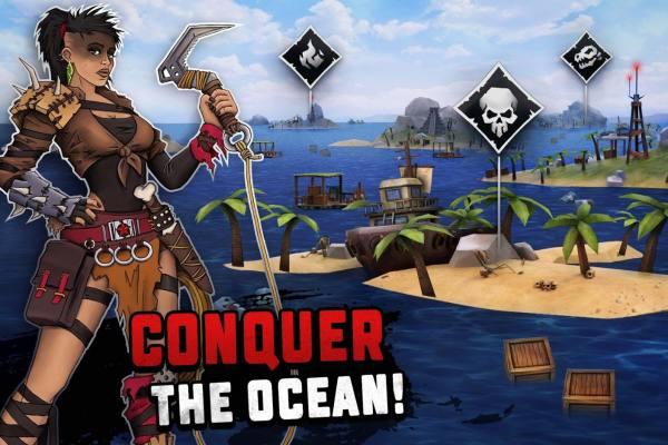 دانلود Survival on Raft: Ocean Nomad – Simulator 1.199 بازی زیبا و جذاب بقاء در اقیانوس اندروید + مود