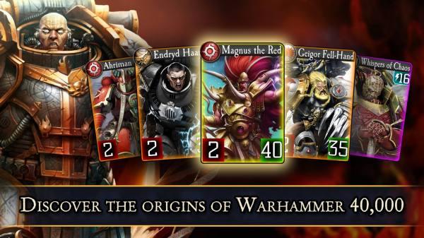دانلود The Horus Heresy: Legions 1.9.9 بازی کارتی ارتداد هوراس و لژیون ها اندروید