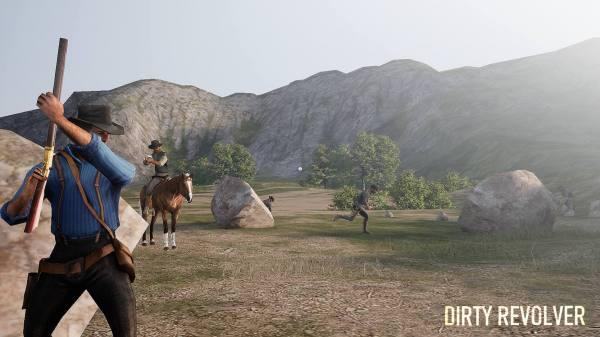 دانلود Dirty Revolver 2.0 بازی اکشن هفت تیر کش خشمگین اندروید + دیتا