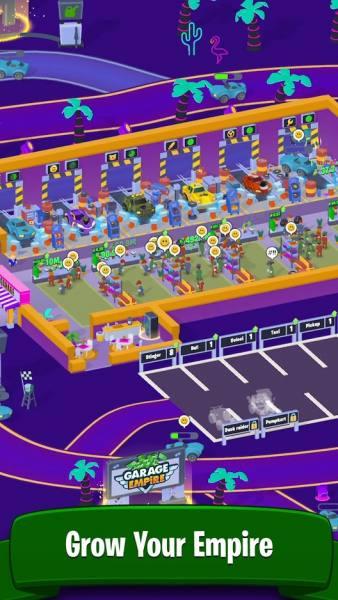 دانلود Garage Empire 2.6.1 بازی شبیه سازی امپراطوری گاراژ اندروید + مود