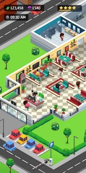 دانلود Idle Restaurant Tycoon – Build a restaurant empire 1.14.0 بازی شبیه سازی مدیر رستوران  اندروید + مود