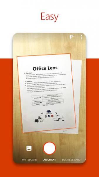 دانلود Office Lens 16.0.14326.20328 اپلیکیشن اسکنر اسناد اندروید