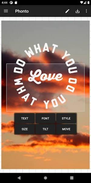 دانلود Phonto Pro – Text on Photos 1.7.87 برنامه افزودن متن به تصاویر اندروید