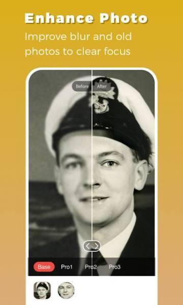 دانلود Remini – Photo Enhancer 1.5.4 برنامه بهبود کیفیت فایل های تصویری اندروید