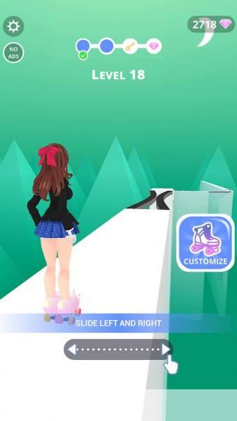 دانلود Sky Roller 1.8.9 بازی آرکید اسکی باز در آسمان اندروید + مود