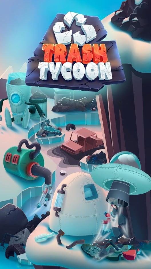 دانلود Trash Tycoon: idle clicker 0.1.9 بازی شبیه سازی و مدیریتی سرمایه دار زباله اندروید + مود