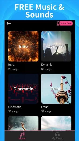 دانلود Intro Maker – music intro video editor VIP 4.5.3 برنامه ساخت اینترو برای کلیپ های یوتیوب مخصوص اندروید