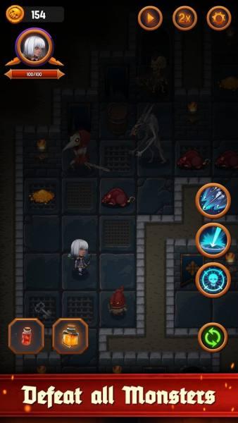 دانلود Dungeon: Age of Heroes 1.10.485 بازی ماجراجویی سیاه چال در عصر قهرمانان اندروید + مود