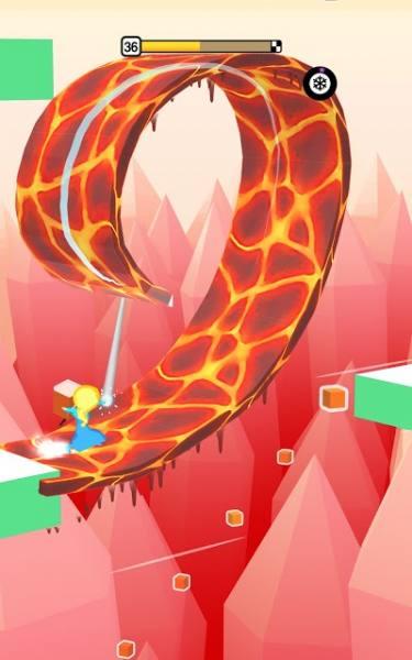 دانلود Freeze Rider 1.9.0 بازی آرکید یخ سوار اندروید + مود