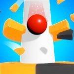 دانلود Helix Jump 3.6.0 بازی اکشن چالش مارپیچ اندروید + مود