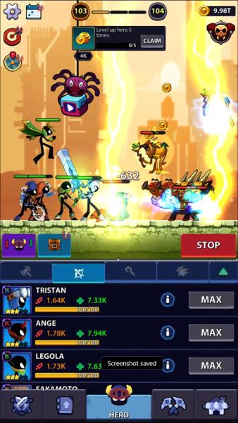 دانلود Idle Stickman Heroes: Monster Age 1.0.18 بازی اکشن قهرمانان استیکمن در عصر هیولا اندروید + مود