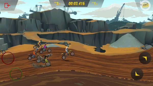 دانلود Mad Skills Motocross 3 1.3.1 بازی مسابقه ای مهارت های بی نظیر موتور کراس 3 اندروید + مود