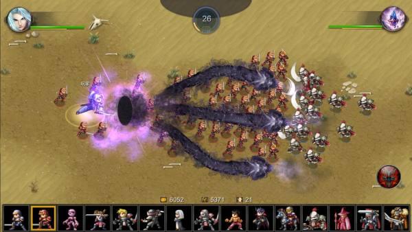 دانلود Miragine War 7.7.0 بازی استراتژیک زیبای جنگ میراژین اندروید + مود