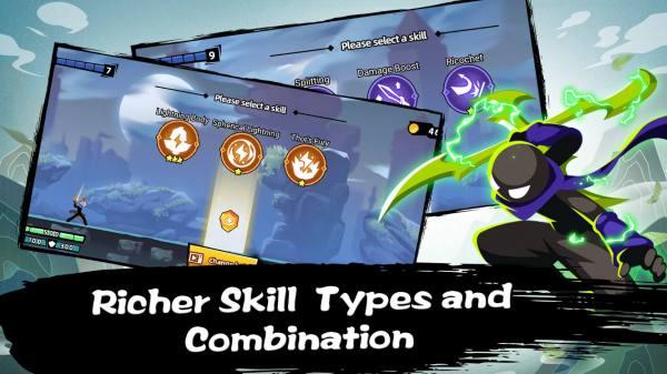 دانلود Stickman Master II: Dark Earldom 0.1.3 بازی کژوال استاد استیکمن 2 در میرات تاریک اندروید + مود