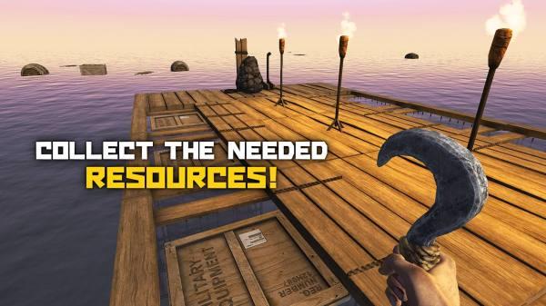 دانلود Survival and Craft: Crafting In The Ocean 240 بازی بقاء در اقیانوس پهناور ساخت ساز کن اندروید + مود