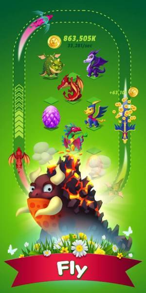 دانلود Dragons Evolution 2.1.13 بازی شبیه سازی تکامل اژدها اندروید + مود