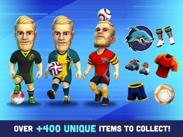 دانلود Mini Football – Mobile Soccer 1.5.5 بازی ورزشی و جذاب مینی فوتبال اندروید + مود