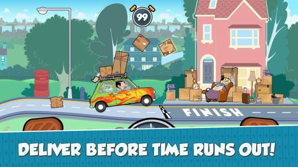 دانلود Mr Bean – Special Delivery 1.9.10 بازی تقننی مستر بین - تحویل ویژه اندروید + مود