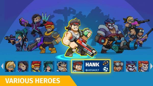 دانلود Auto Hero: Auto-fire 1.0.22.58.01 بازی آرکید قهرمان تیرانداز خودکار اندروید + مود