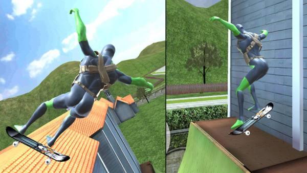 دانلود Rope Frog Ninja Hero 1.6.2 بازی اکشن قهرمان لباس قورباغه ای نینجا اندروید + مود