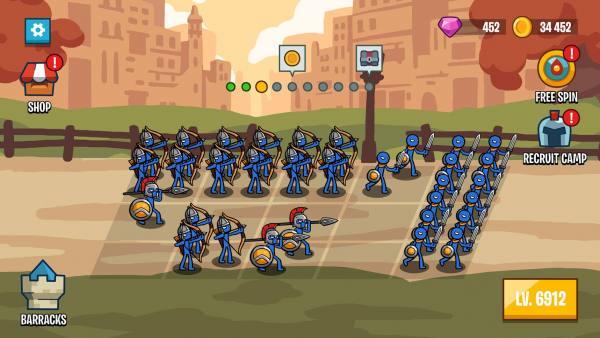 دانلود Stick Wars 2: Battle of Legions 2.4.0 بازی استراتژیک جنگ آدمک ها و نبرد لژیون اندروید + مود