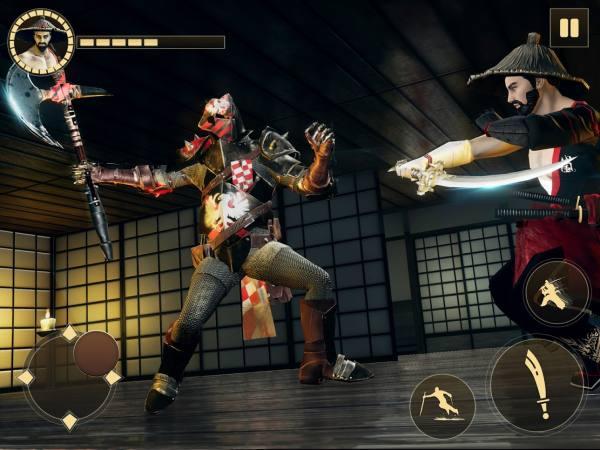 دانلود Shadow Ninja warrior – Assassin Hero Samurai 1.3 بازی اکشن نینجای جنگجوی سایه اندروید + مود + دیتا