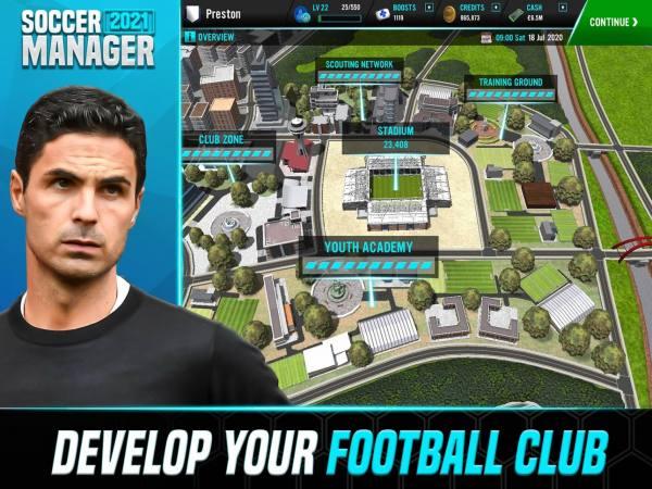 دانلود Soccer Manager 2021 2.1.0 بازی ورزشی جذاب مدیریت فوتبال 2021 اندروید