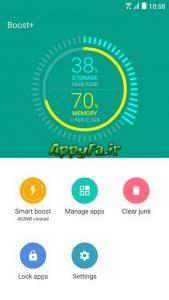 دانلود Boost+ 1.70.965599 نرم افزار ~ بهینه سازی و افزایش سرعت اندروید