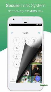 دانلود Dialer Vault – VaultDroid Hide Photo Video OS 1.4 اپلیکیشن مخفی کردن عکس و فیلم وبرنامه