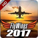 دانلود Flight Simulator FlyWings 2017 6.1.0 بازی شبیه ساز پرواز اندروید + مود + دیتا