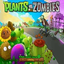 بازی آنلاین گیاهان علیه بیگانگان Plants vs Zombies