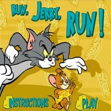 دانلود بازی فلش آنلاین موش و گربه Run Jerry Run