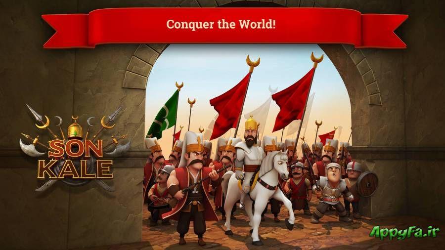 دانلود Son Kale 2.2.4 بازی ساخت پادشاهی اندروید