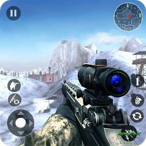 Winter Mountain Sniper – Modern Shooter Combat