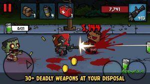 دانلود Zombie Age 3 1.7.8 بازی زیبای عصر زامبی 3 اندروید + مود