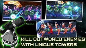 Alien Demons TD 1.3 دانلود بازی برج دفاعی شیاطین بیگانه اندروید + مود