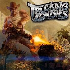 بازی کشتار زامبی ها Trucking Zombies